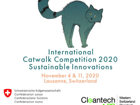 We are nominated at International Competition of Sustainable innovations   !! SO PROUD !!