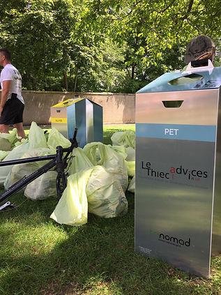 Trinomad, tri des déchets, recyclage des déchets