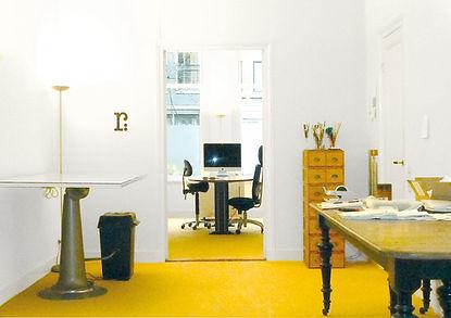 studio rene bakker werkruimte in de Pijp in Amsterdam