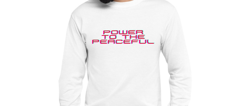 Wellness + Peace Champion Long Sleeve Shirt