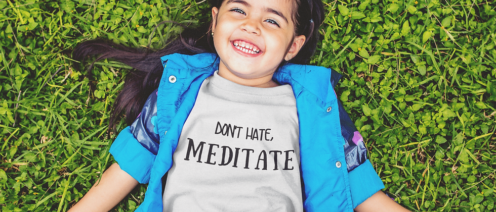 Well Meditated Kids Tee