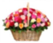 Купить корзину роз Псков