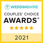 wedding wire couples choice award badge