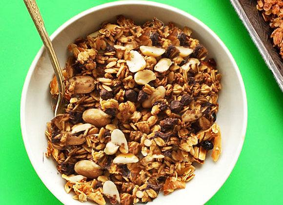 Peanut Chocolate Chip Granola (180g)