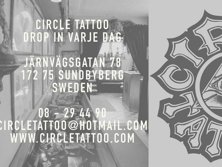 Circle Tattoo in Sundbyberg