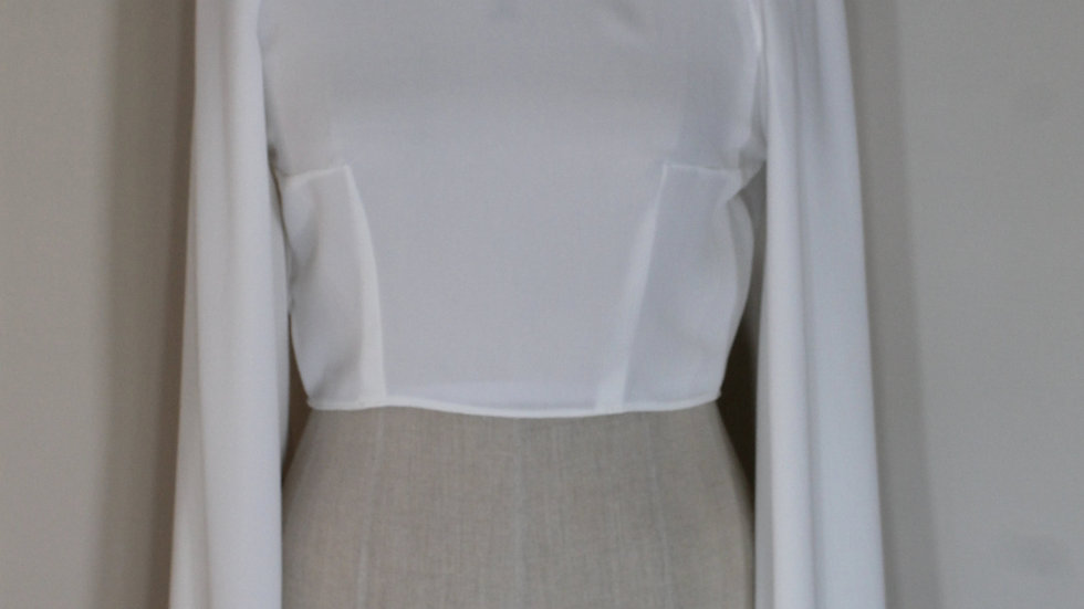 Raglan Top with Cape Sleeves