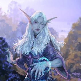 Night Elf Mage -WoW