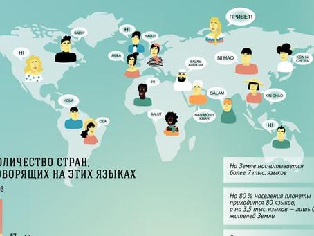 👨🎓Проводим исследование: какие самые популярные языки в мире?