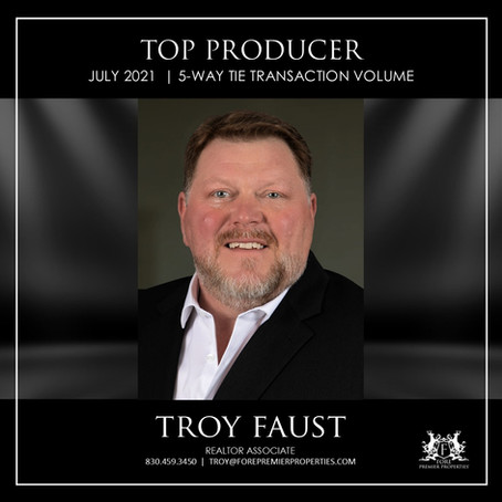 CONGRATULATIONS, TROY FAUST