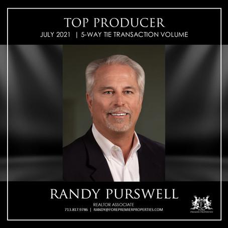 CONGRATULATIONS, RANDY PURSWELL