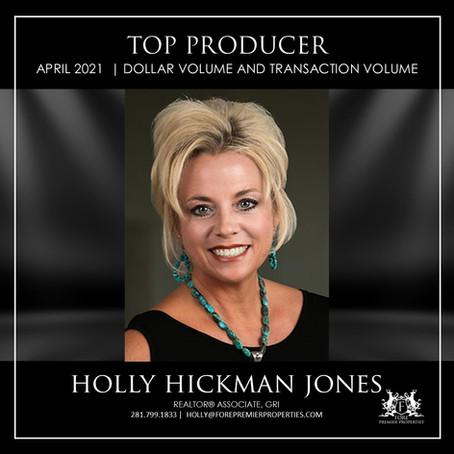 CONGRATULATIONS, HOLLY HICKMAN JONES