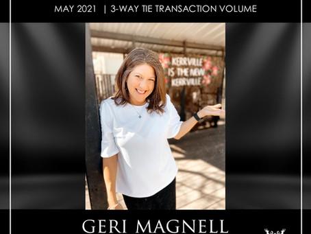 CONGRATULATIONS, GERI MAGNELL