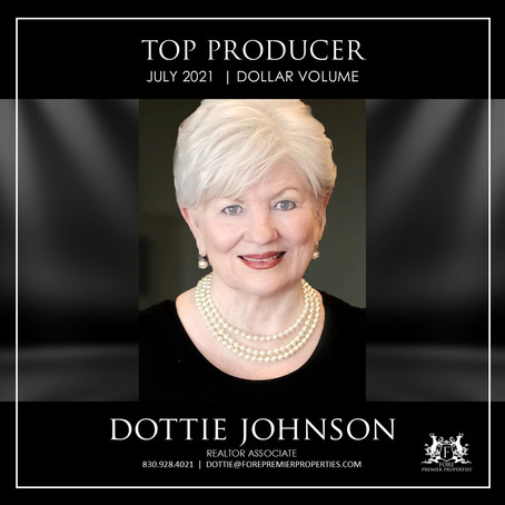CONGRATULATIONS, DOTTIE JOHNSON