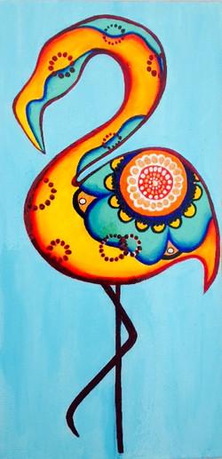 Feathered Flamingo
