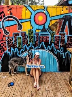 Charleston SC Pourhouse Mural
