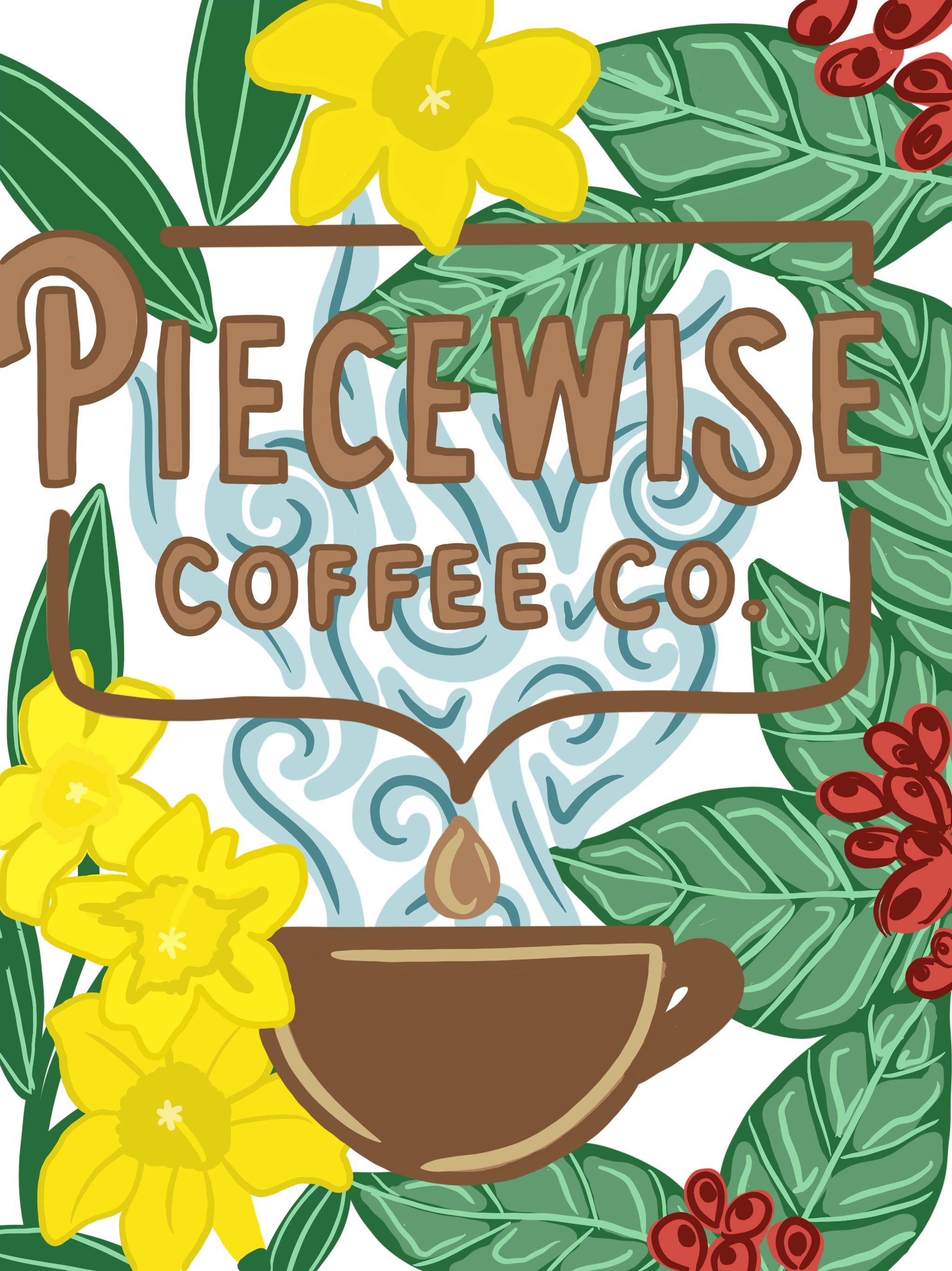 Piecewise Coffee Mockup