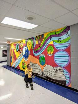 Sullivan Middle School Mural