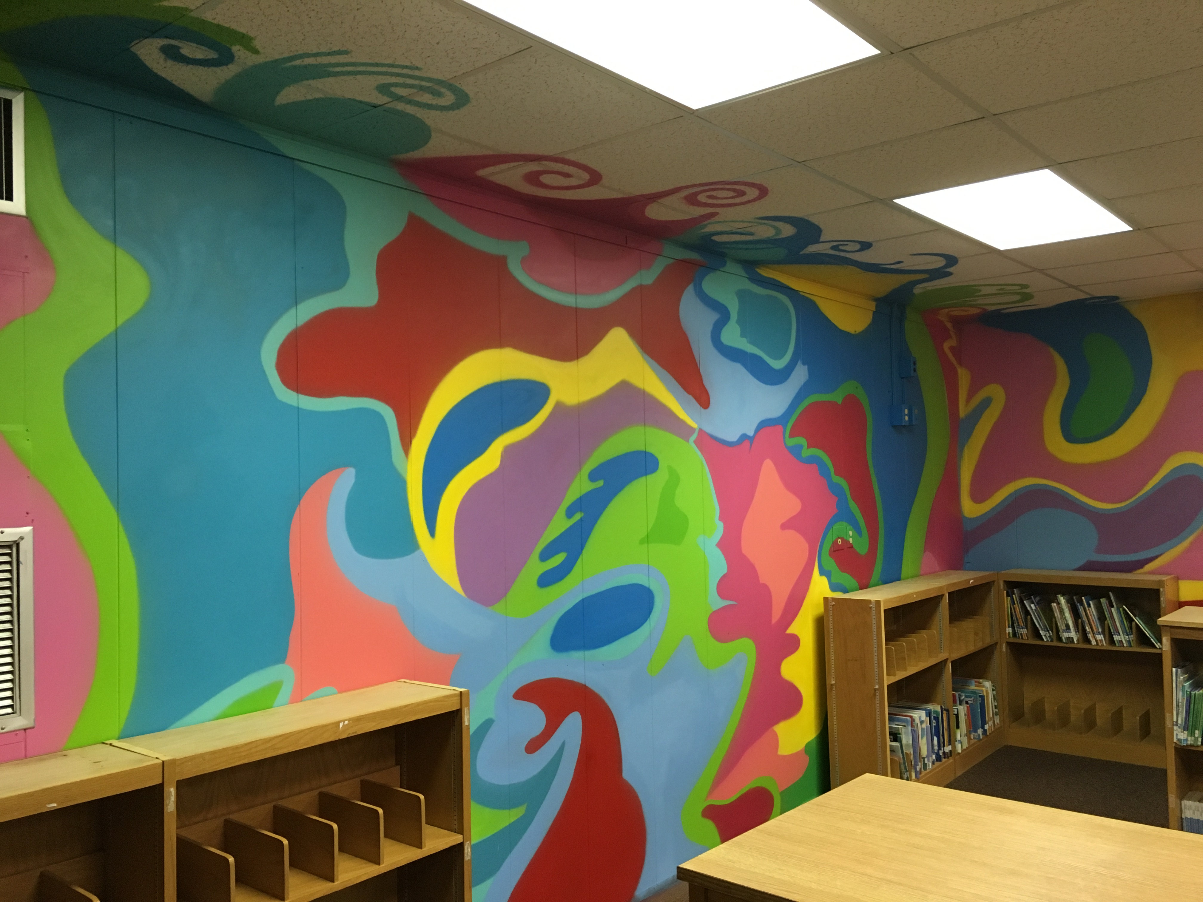 Dr. Seuss Elementary School Library