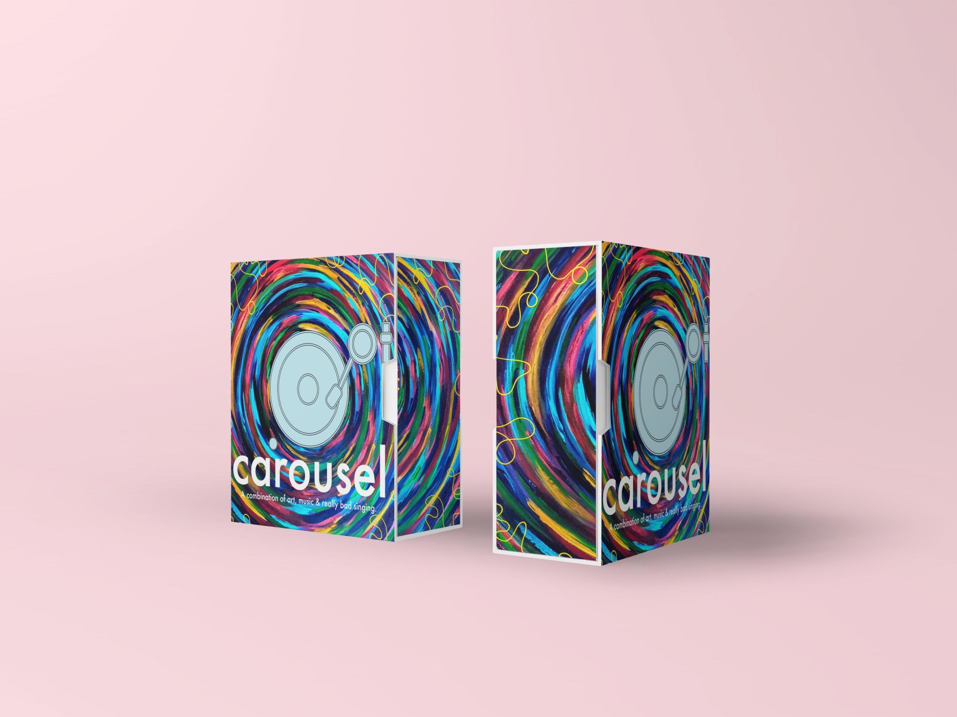 Carousel Game Packaging Design