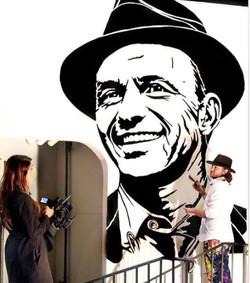 Frank Sinatra Mural