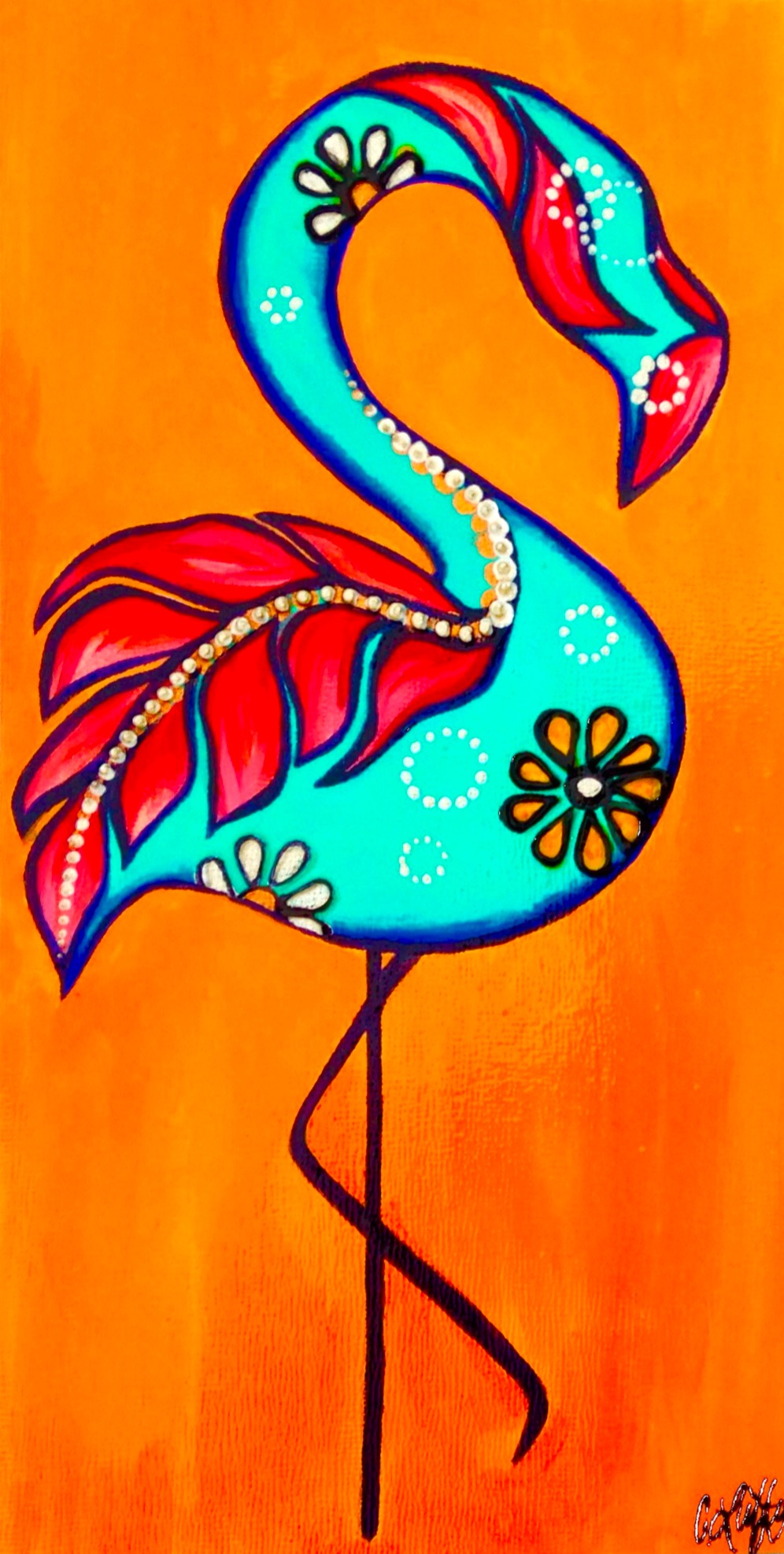 Feathered Flamingo