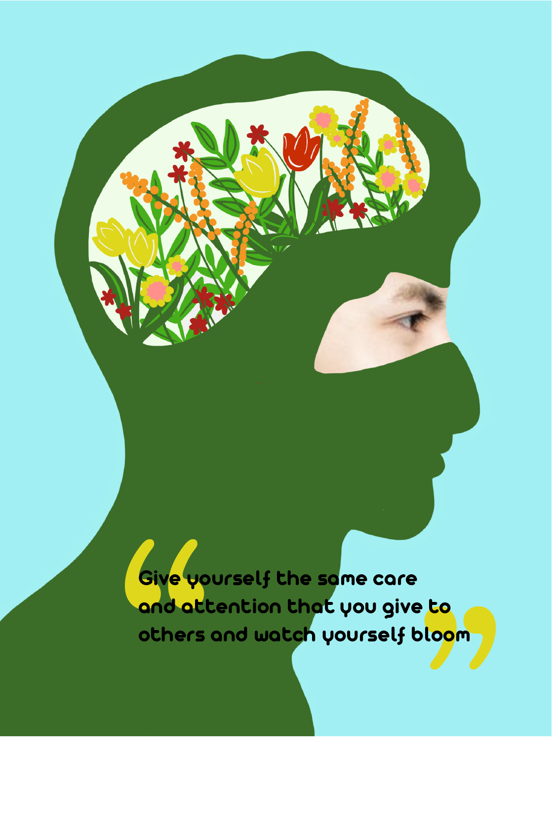 Grow Your Mind Illustration