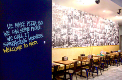 MOD PIZZA Mural