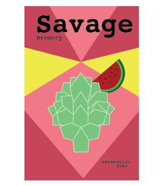 Savage Watermelon Can Design
