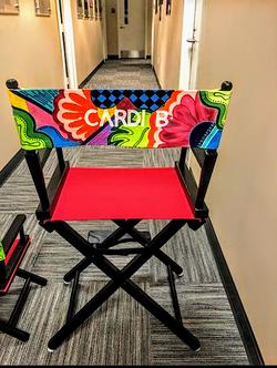 Cardi B's Director Chair