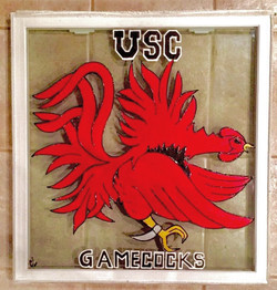 USC Gamecock Window