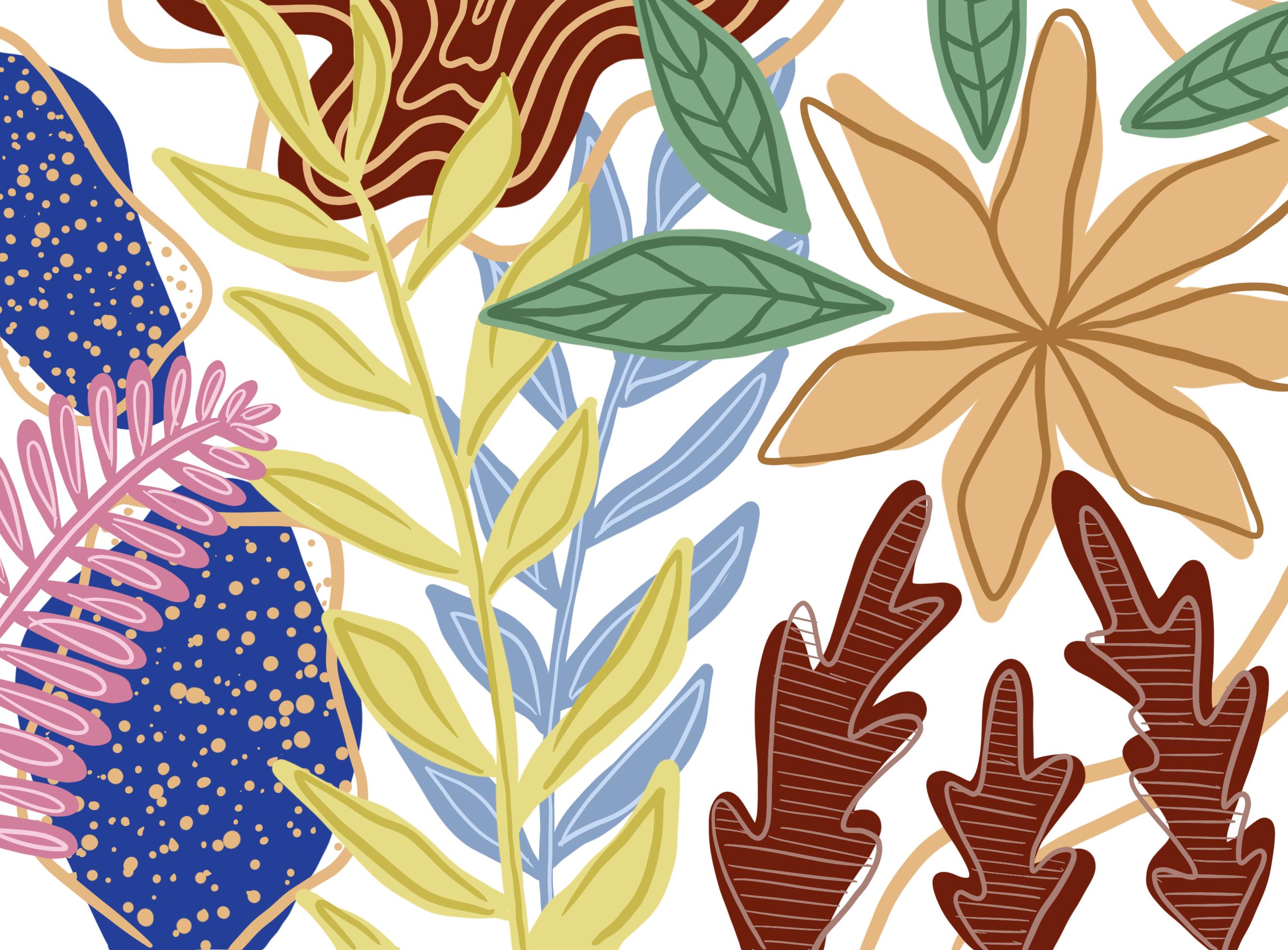 Mural Mockup Background Illustration