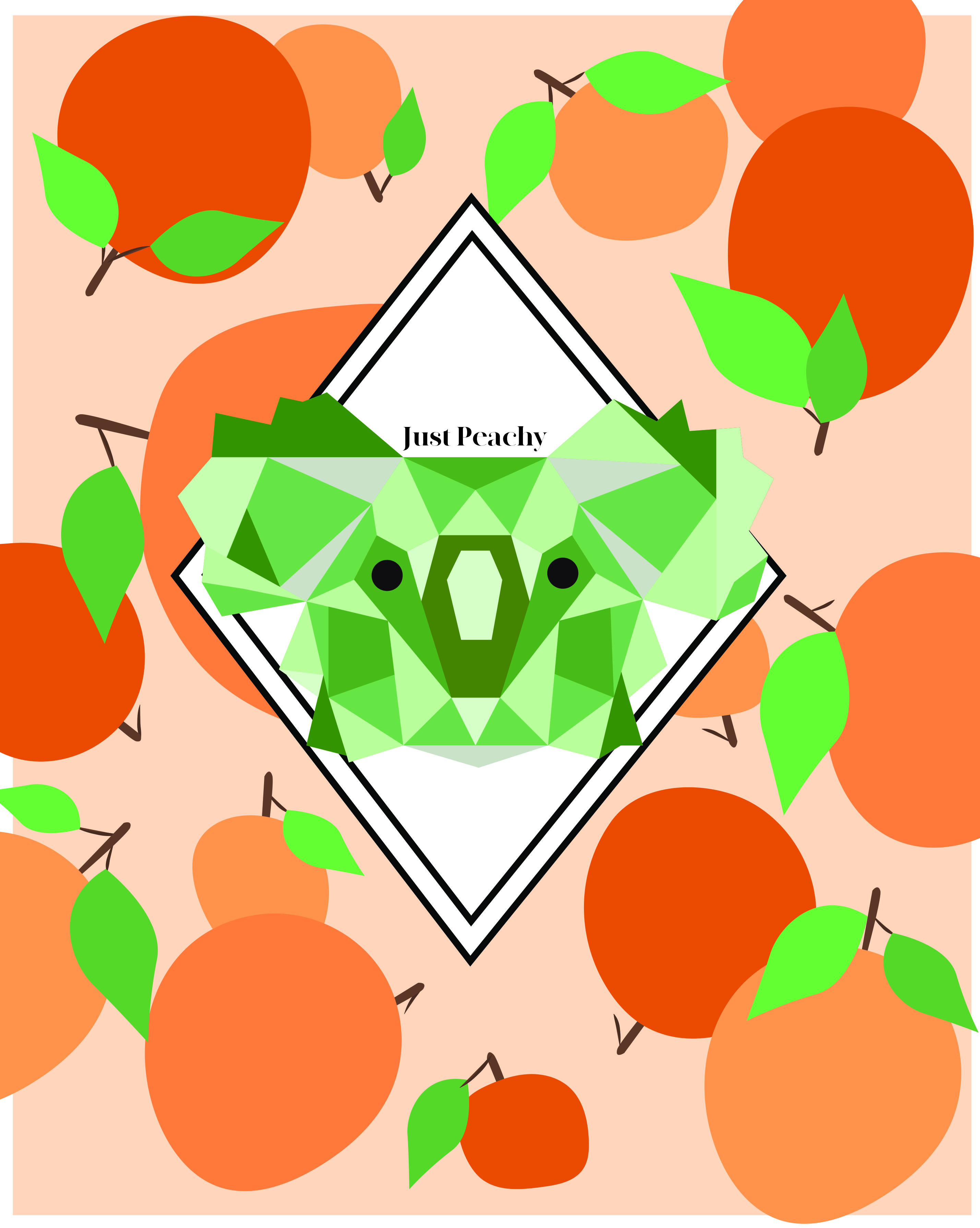 Just Peachy Packaging Design