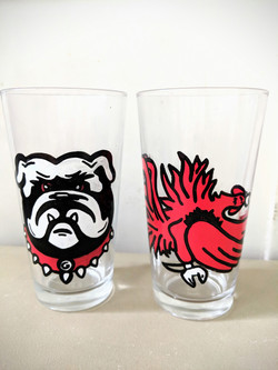 Rival Pint Glasses