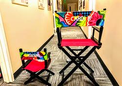 Cardi B & Kulture's Director Chairs