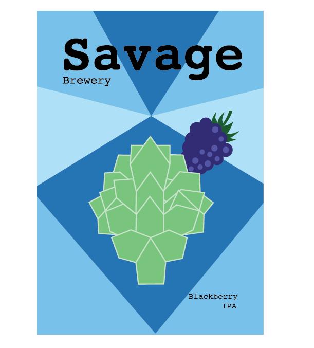 Savage Blackberry Can Design