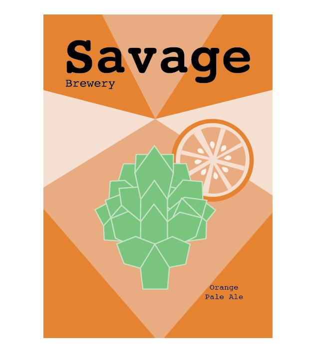 Savage Orange Can Design