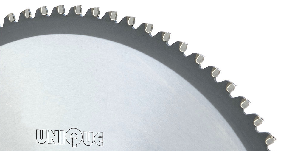 USU: Carbide tipped blades for cutting stainless steel