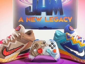 Space Jam themed Xbox Series X