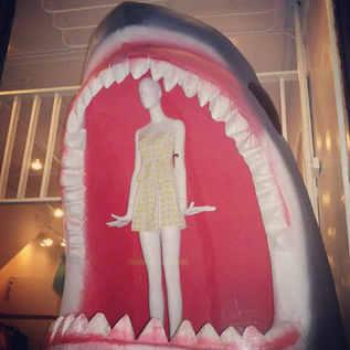 8' Tall Shark Display