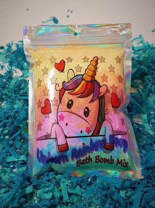 Unicorn Rainbow Poop - Bath Bomb Powder