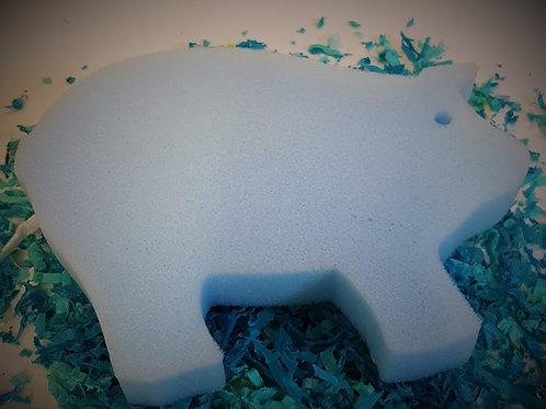 Sponge - Pig Bath & Body