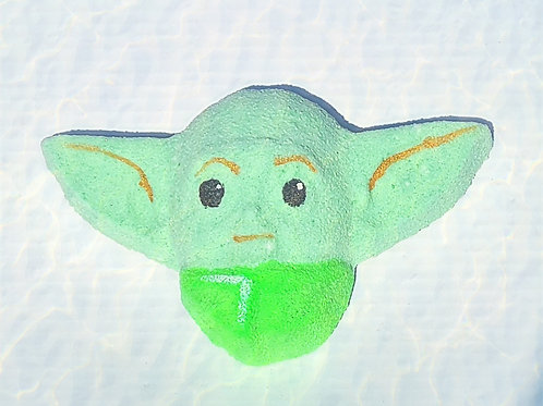 Baby Yoda Bath Bomb