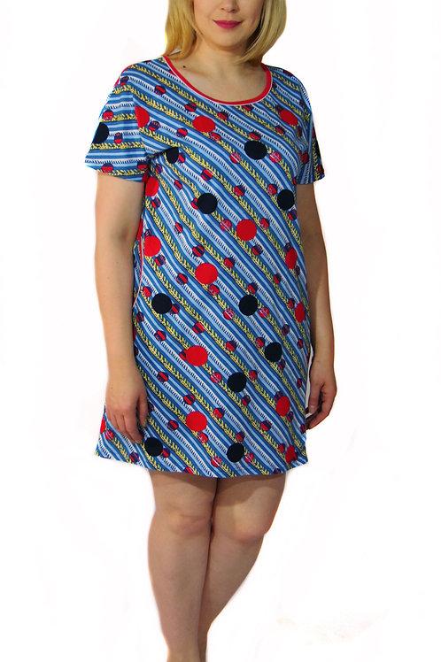 770-10 Платье домашнее (Диагональ)