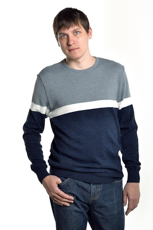 Джемпер Мужской 5-3305 (Белый)