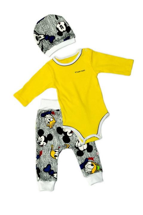 к2020п Комплект детский (Жёлтый/Дональд)