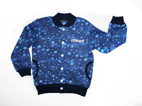 257-31 Джемпер (ТЕРМО) (Синие звёзды)