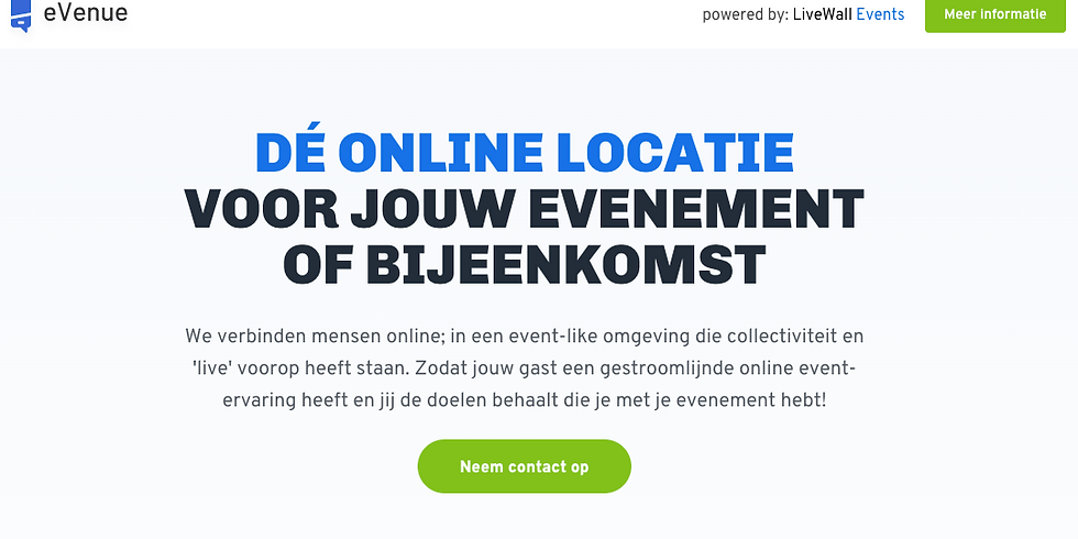 Online demo: eVenue by LiveWall Events (2)