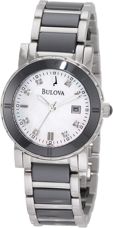Bulova Highbridge Substantial Ceramic Stainless steel Watch