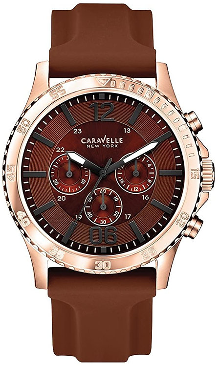 CARAVELLE NEW YORK BY BULOVA SILICONE MENS WATCH