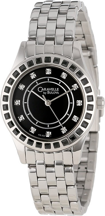 Caravelle by Bulova Woman Crystal Watch